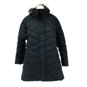 Marmot   Women's Long Down Filled Jacket   Black